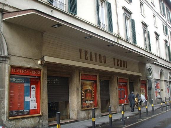 Teatro Verdi de Florencia.