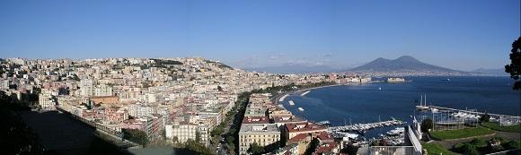 Vista de Nápoles.
