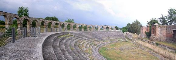 Teatro romano de Ferento.