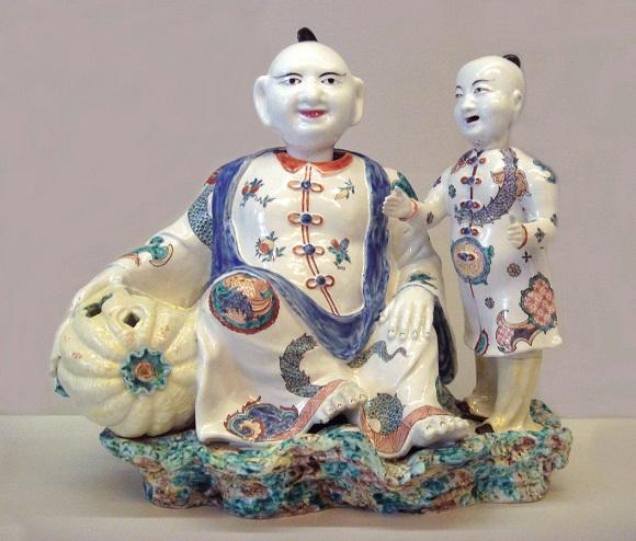 Porcelanas de Chantilly.