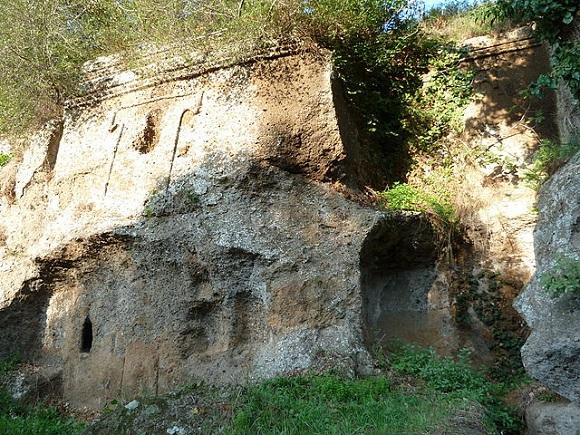 Tumba Grande de Castel d'Asso.