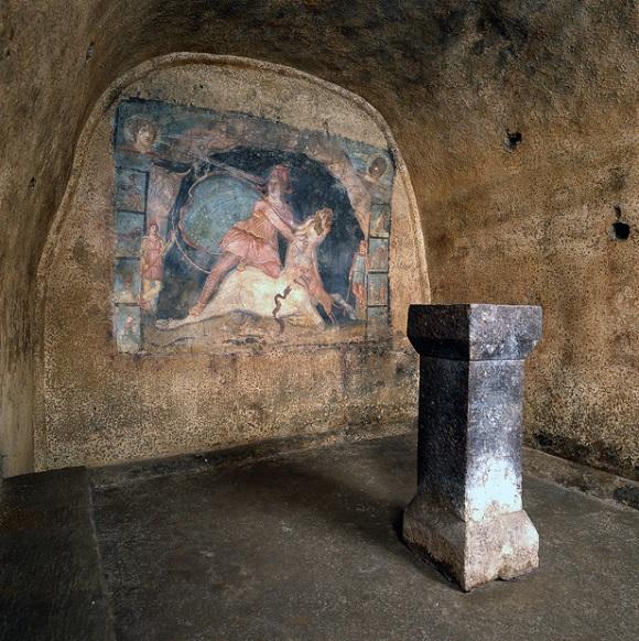 Mitreo de Marino en Castelli Romani.
