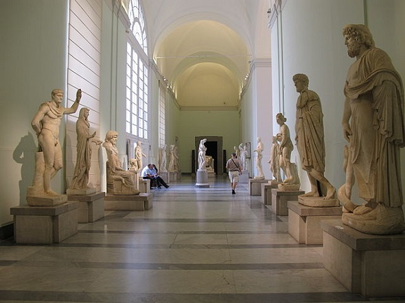 Museo Arqueológico Nacional de Nápoles.
