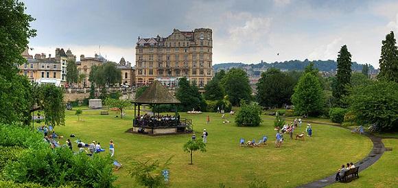 Parade Gardens de Bath.
