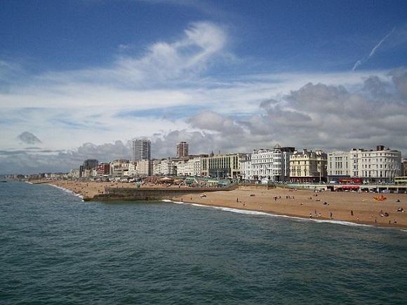 Playa de Brighton.