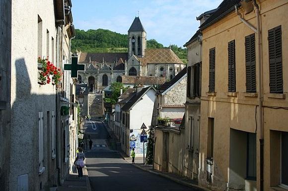 Calles de Vetheuil.