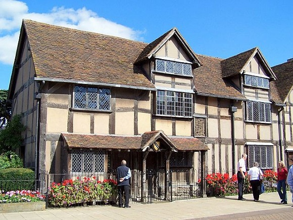 Casa de William Shakespeare.