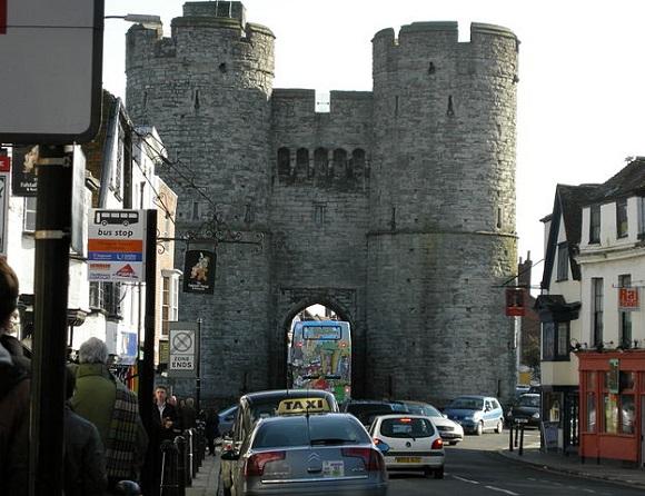 La Westgate de Canterbury.