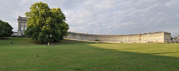 Royal Crescent de Bath.