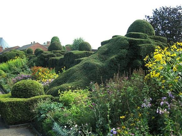 Jardín de New Place.