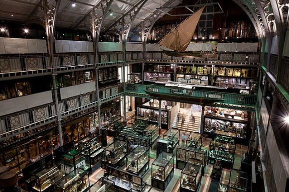 Museo Pitt Rivers de Oxford.