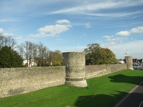 Murallas de Canterbury.