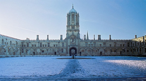 Tom Quad de Christ Church.