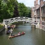 Puente de Matemáticas de Cambridge Wikipedia Commons by Chensiyuan