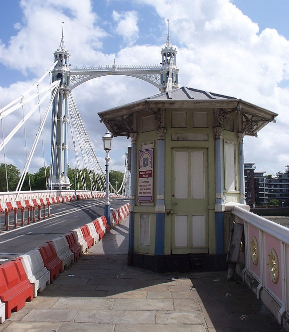 El Albert Bridge de Londres.