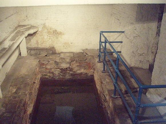 Baños romanos de Londres.