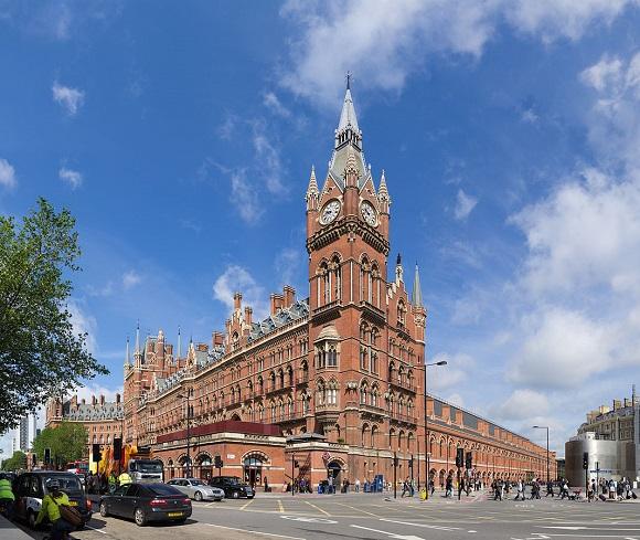 Estación de St. Pancras.