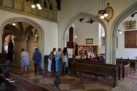Iglesia del Santo Sepulcro de Cambridge.