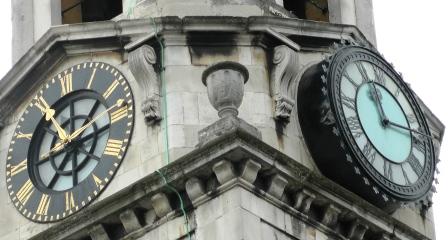 Reloj de St George de Londres.