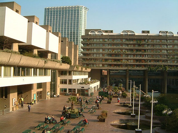 Barbican Centre Wikipedia Commons by Nevilley