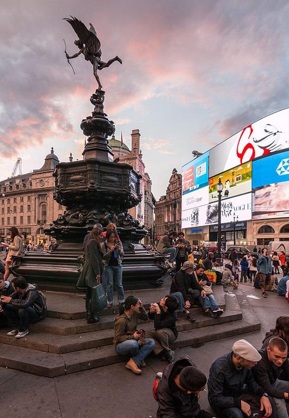Fuente de Piccadilly Circus.