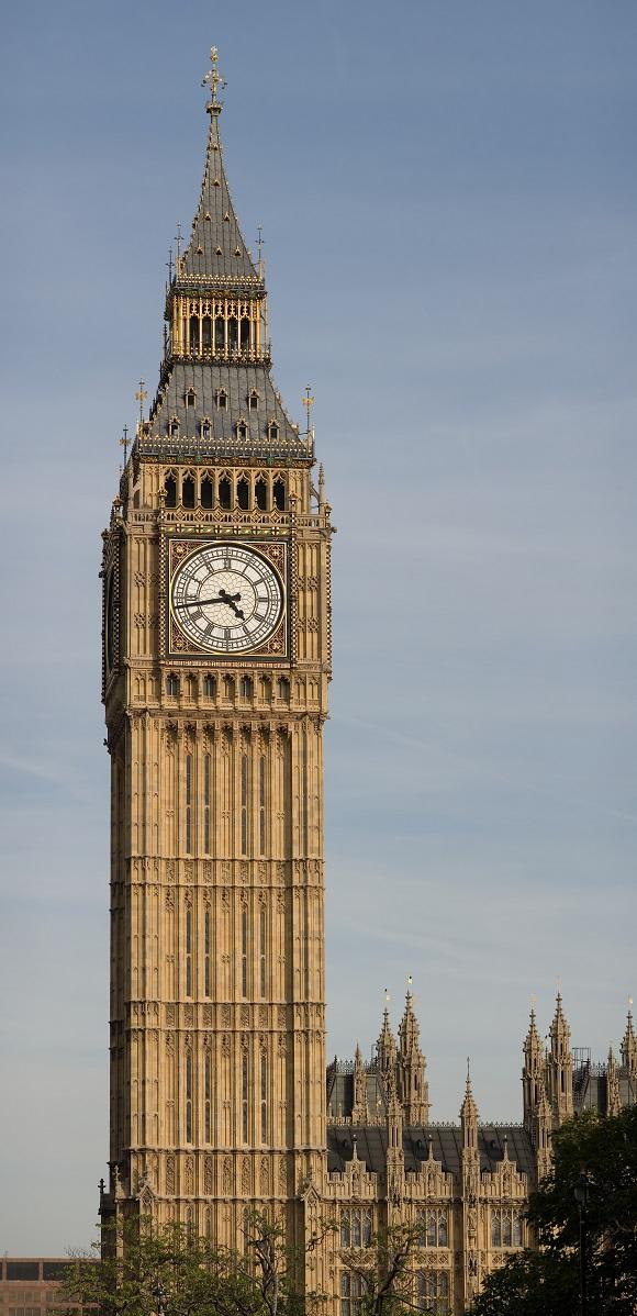 Torre del Big Ben de Londres.