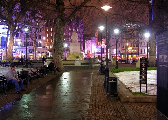 Leicester Square.