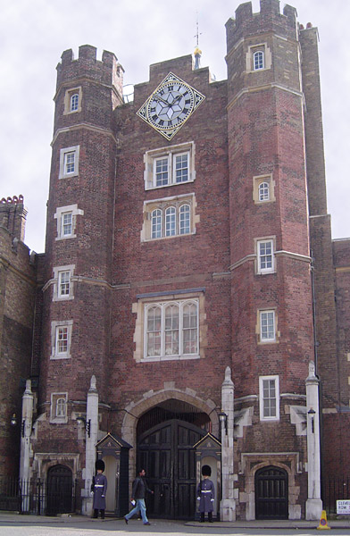 Palacio de St James.