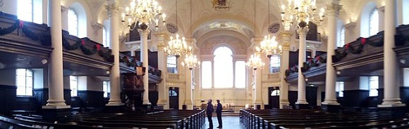 St Martin-in-the-Fields.