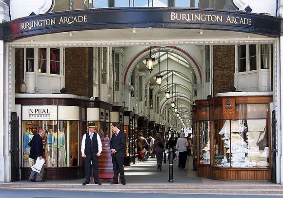 Burlington Arcade.