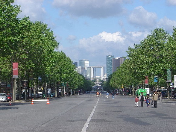 La Defense de París.