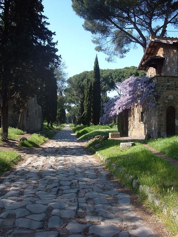 Vía Appia.