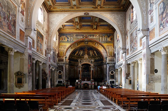 Iglesia de Santa Prassede.