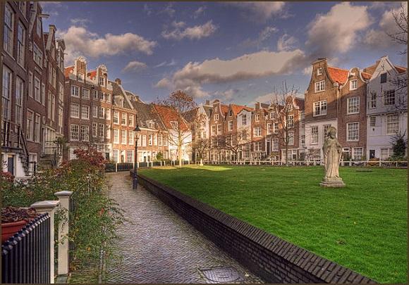Begijnhof, Ámsterdam.