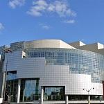 P1090068 France, Paris, place de la Bastille, l'opéra Bastille conçue par Carlos Ott et inaugurée en 1989
