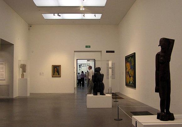 Tate Modern, interior.
