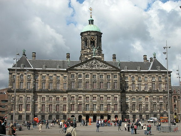 Palacio Real de Ámsterdam.