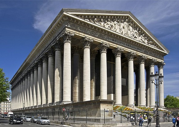 La Madeleine de París.