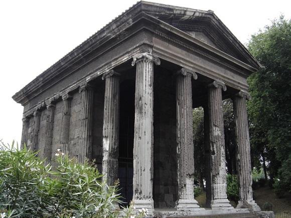Templo de Portunus.