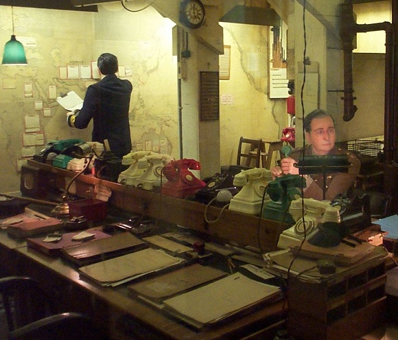 Churchill's War Room.