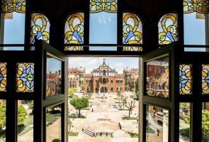 Guided tour of Sagrada Familia and Sant Pau Art Nouveau Site with fast track entrance-1