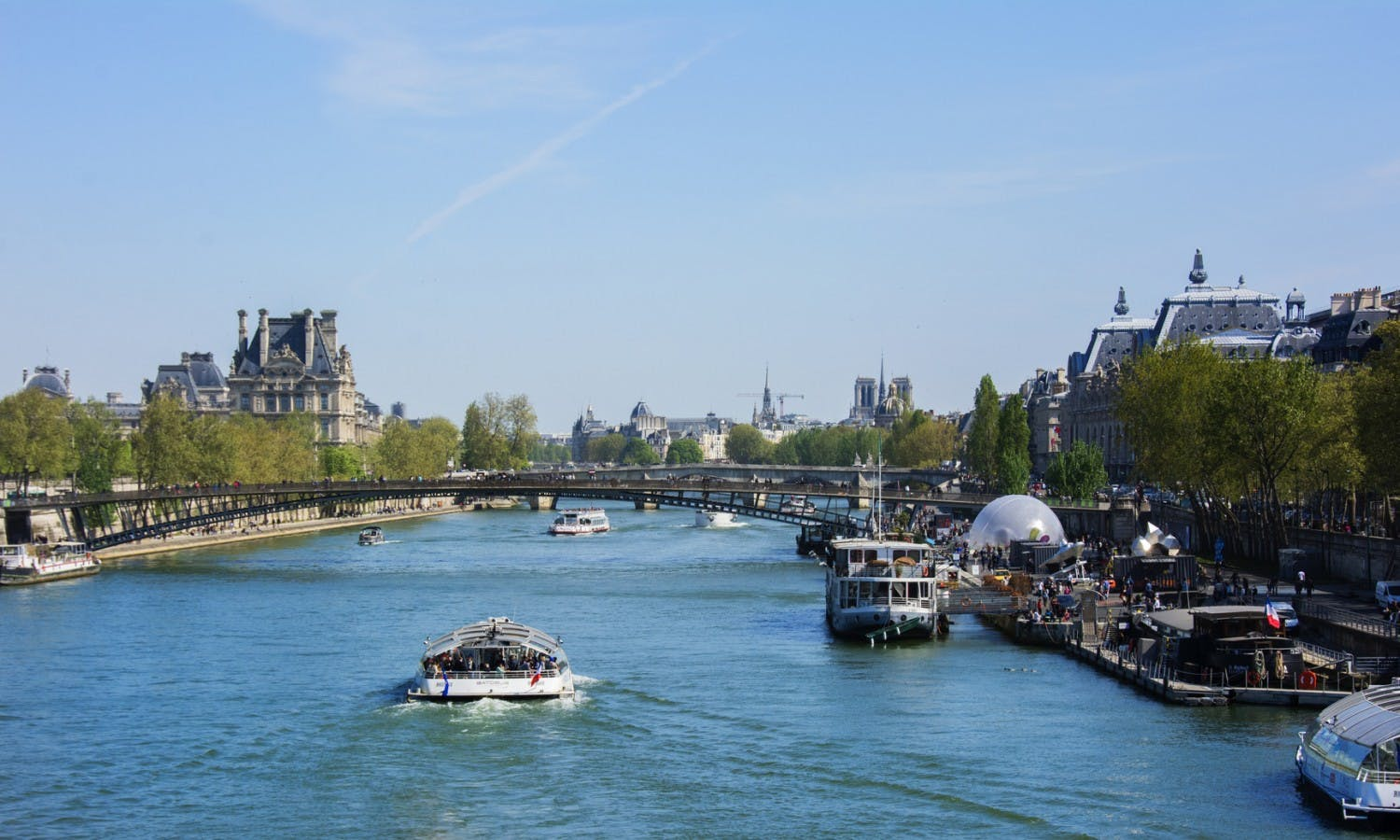 Paris Up&Down: City Tour, Skip the Line Tickets to the Eiffel Tower and Seine Cruise