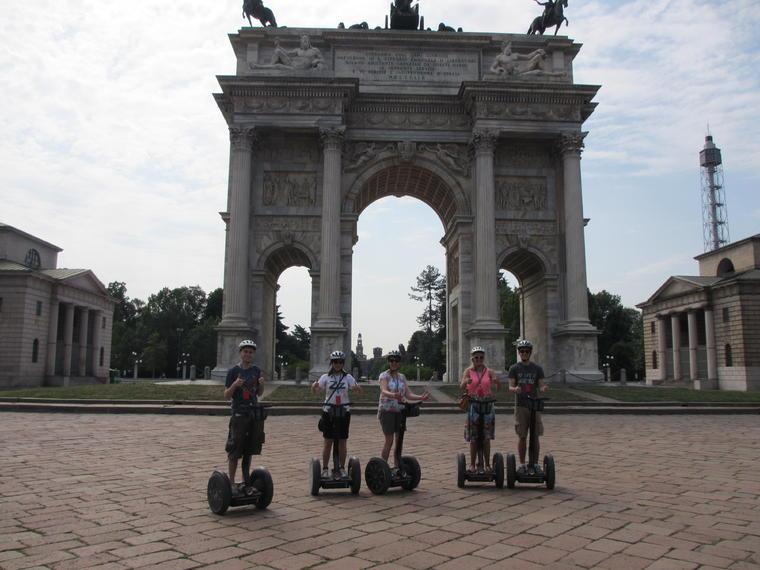 Excursión en Segway por Milán