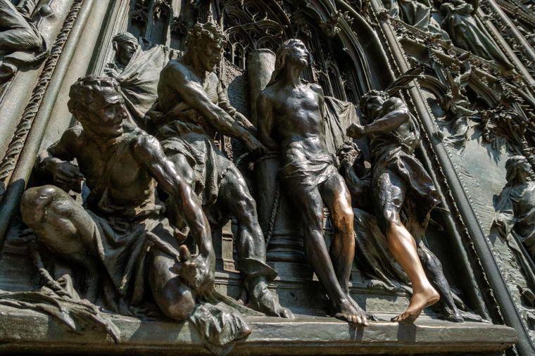 Visita guiada sin colas del Duomo de Milán, visita nocturna en la azotea