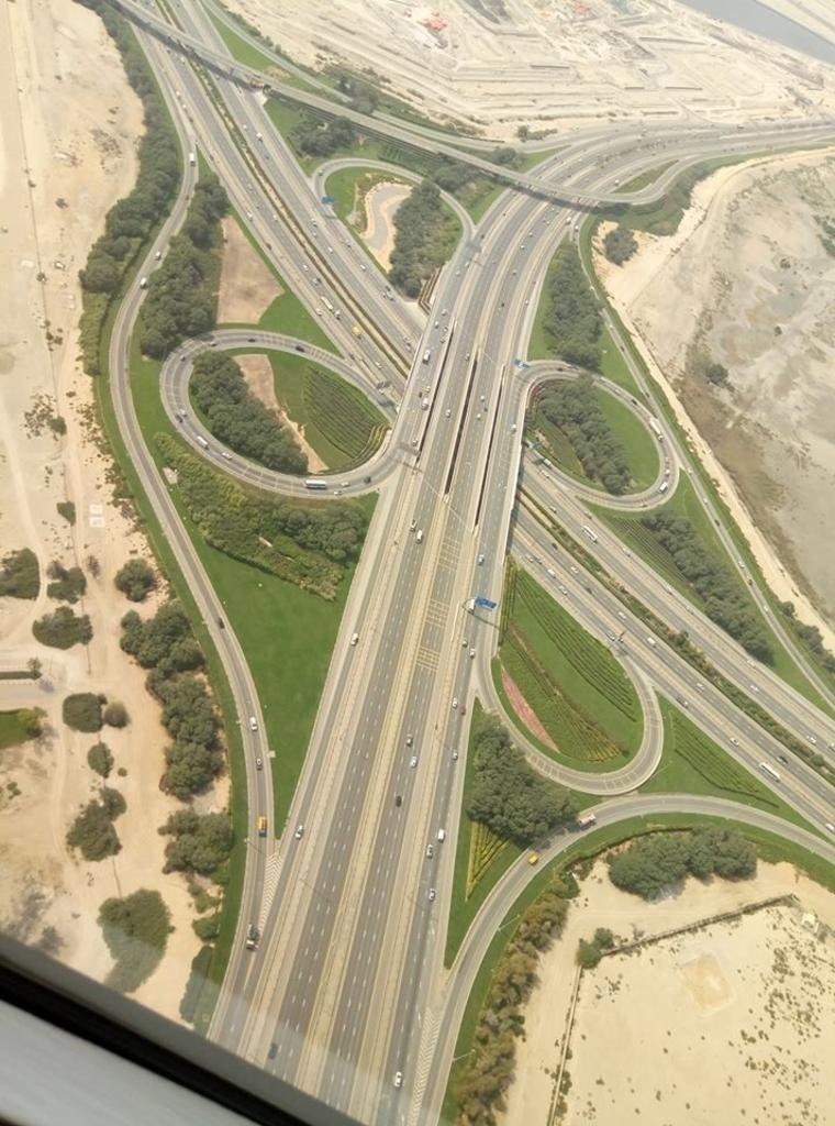 Recorrido en helicópetero por Dubái