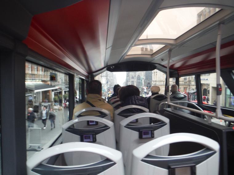 Recorrido turístico en autobús con paradas libres por la ciudad de Edimburgo