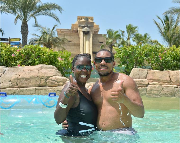 Entrada para todo el día al parque acuático Atlantis Aquaventure Waterpark de Dubái
